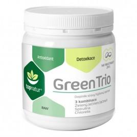 Green Trio - Orz Verde, Spirulina si Chlorella - 180tb Topnatur