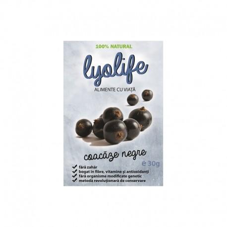 Coacaze Negre Liofilizate 30 g Lyolife
