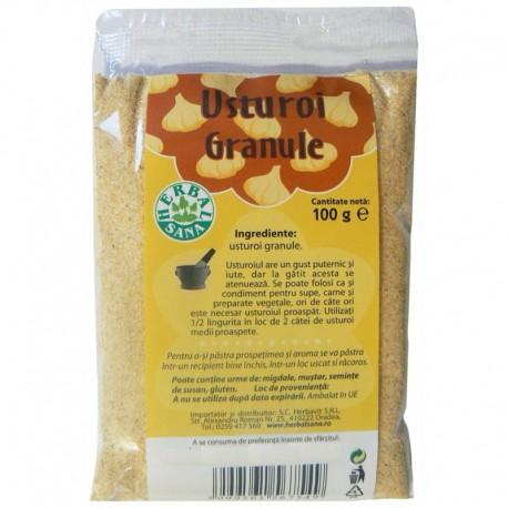 Condiment Usturoi Granule 100 g Herbalsana