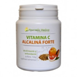 Vitamina C Alcalina Forte Pulbere 150g Ayurvedic Medica