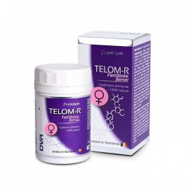 Capsule Telom-R Fertilitate Femei 120cps DVR Pharm
