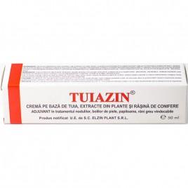 Tuiazin Crema de Tuia cu Extracte Naturale si Rasina 50ml Elzin Plant