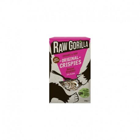 Raw Gorilla Crispies Original Bio 250g Raw Gorilla
