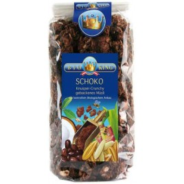 Musli Crocant Ciocolata Alune Bio 375g Bio King