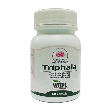 Triphala Capsule 500mg 60cps Herba Ayurvedica