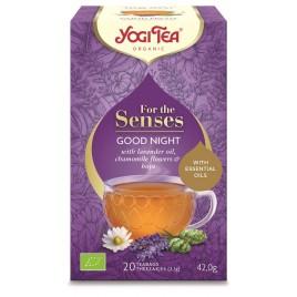 Ceai pentru Simturi Noapte Buna Bio 20dz Yogi Tea