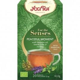 Ceai pentru Simturi Peaceful Moment Bio 20dz Yogi Tea