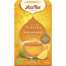 Ceai pentru Simturi Pura Fericire Bio 20dz Yogi Tea