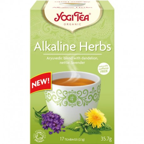 Ceai Plante Alcaline Bio 17dz Yogi Tea