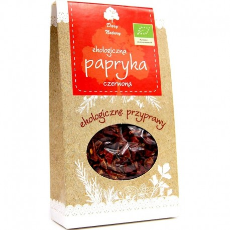 Condiment Paprika - Ardei Rosu Dulce Bio 50g Dary Natury