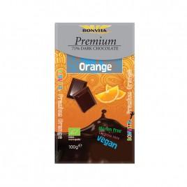 Ciocolata Neagra cu Portocale Premium Bio 100g Bonvita