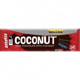 Ciocolata Neagra cu Cocos Bio 40g Bonvita