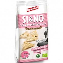 Si & No - Chipsuri de Hrisca cu Quinoa si Amarant Bio 80g Fiorentini