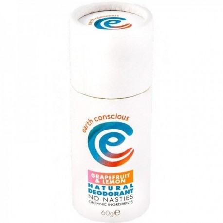 Deodorant Solid Stick Grapefruit-Lamaie 60g Earth Conscious