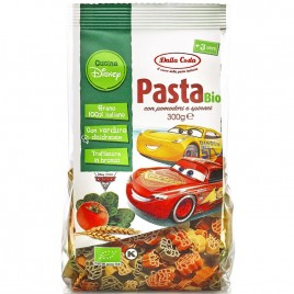 Paste din Grau Dur Tricolore Cucina Disney Cars Bio 300g Dalla Costa