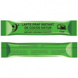 Lapte Praf Instant de Cocos Natur 14g Hapax