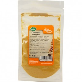 Amestec de Condimente Curry Hot 50g Paradisul Verde