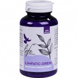 Capsule Bionovativ Limfatic-Dren 120cps Life