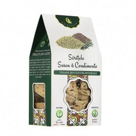 Saratele Vegane cu Susan si Condimente 125g Ambrozia