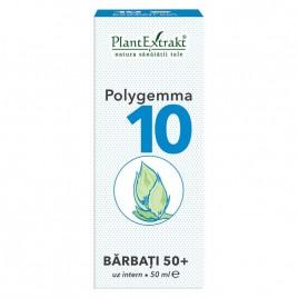 Complex Gemoterapic Polygemma 10 - Barbati 50+ 50ml Plantextrakt