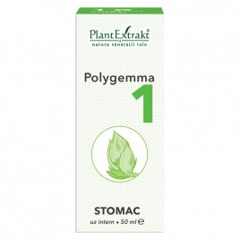 Complex Gemoterapic Polygemma 1 Stomac 50ml Plantextrakt