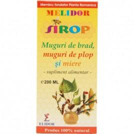 Melidor - Sirop cu Muguri de Brad, Muguri de Plop, Miere 200ml Elidor