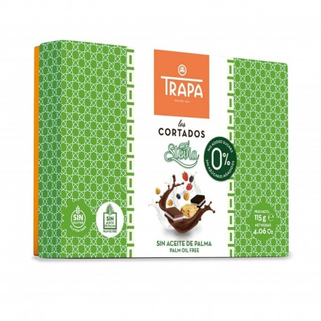 Bomboane Cortados Stevia 115 g Trapa