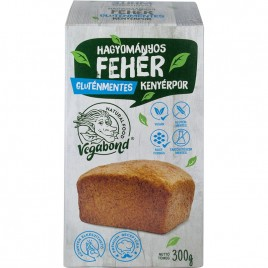 Mix Faina fara Gluten pentru Paine Alba Traditionala 300g Vegabond