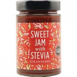 Dulceata de Capsuni cu Stevia 330g Good Good