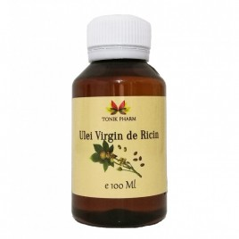 Ulei de Ricin Virgin 100ml Tonik Pharm