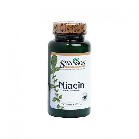 Comprimate - Niacina / Vitamina B3 100mg 250cmp Swanson