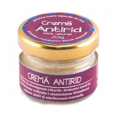 Crema Antirid Naturala 20g Cosmetice Grigorescu