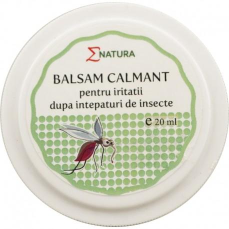 Balsam Calmant pentru Iritatii dupa Intepaturi de Insecte 20ml ENatura