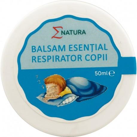 Balsam Esential Respirator pentru Copii 50ml ENatura