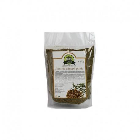 Seminte de Canepa Pisate 250g Green Natural Oil