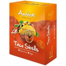 Foi de Taco Shells fara Gluten Bio 150g Amaizin