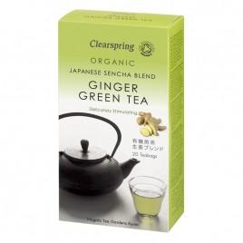 Ceai Verde Ghimbir Bio 20dz Clearspring