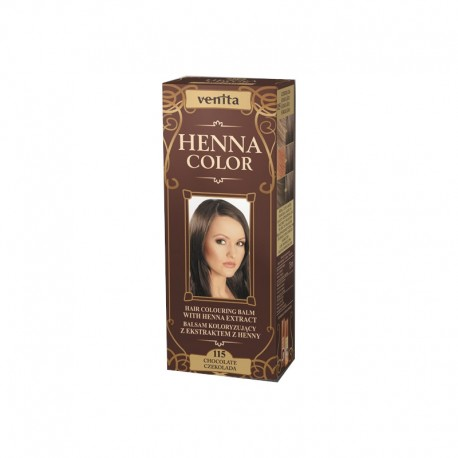 Balsam Colorant Henna Color 115 Ciocolata 75ml Venita