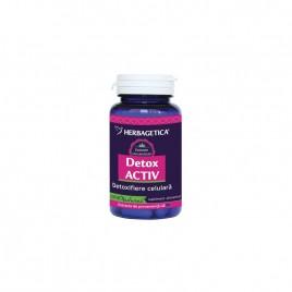 Capsule Detox Activ 60cps Herbagetica