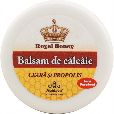 Royal Honey - Balsam de Calcaie cu Ceara si Propolis 30ml Apidava