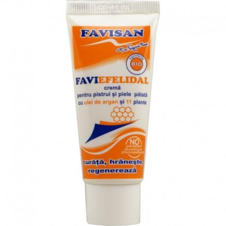 Faviefelidal Crema pentru Pistrui si Piele Patata 40ml Favisan