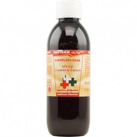 Favitusin-diab Sirop contra Tusei pentru Diabetici 250ml Favisan