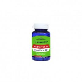 Capsule Parasites 12 Detox Forte 60cps Herbagetica