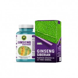 Capsule Ginseng Siberian 60cps Hypericum Impex
