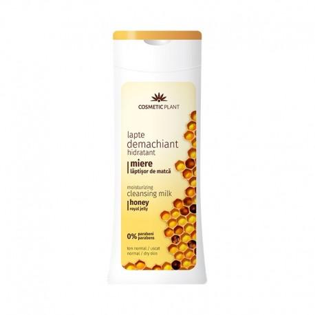 Lapte demachiant Hidratant Miere Laptisor de Matca 200ml Cosmetic Plant