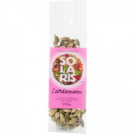 Condimente - Cardamom Verde Intreg 20g Solaris