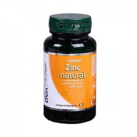 Capsule Zinc Natural 60cps Dvr Pharm