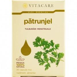 Capsule Moi Patrunjel cu Ulei Esential de Patrunjel 30cps Vitacare