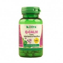 Q-Calm cu valeriana si passiflora 60 cps Kotys