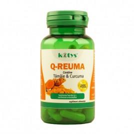 Q-Reuma cu Tamaie si Curcuma 60 cps Kotys